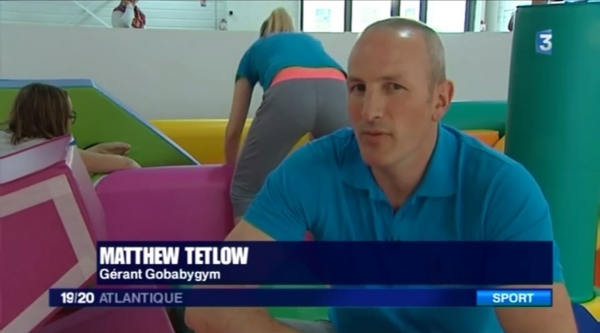 Interview de la franchise Gobabygym sur France 3 Atlantique